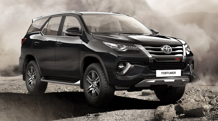 Toyota Fortuner TRD 2019-2020 фото