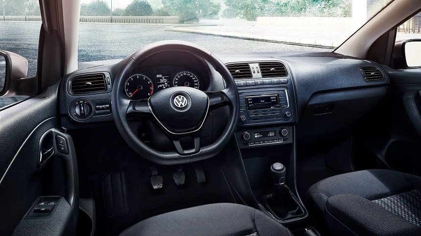 Volkswagen Polo 2019-2020 фото салон